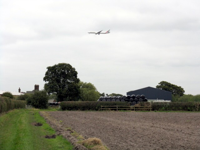 Emirates Over Kell House Farm