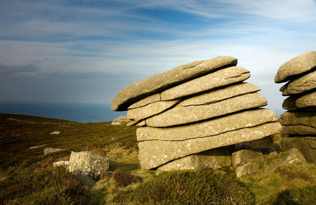 Zennor Hill Rock Formations