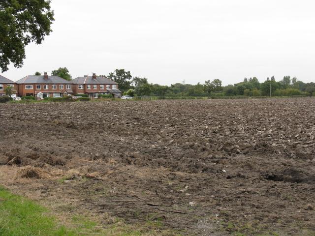 Fields & Farmworkers' Houses Off Broadoak Lane