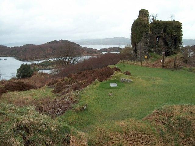 Tarbert Castle. Argyll