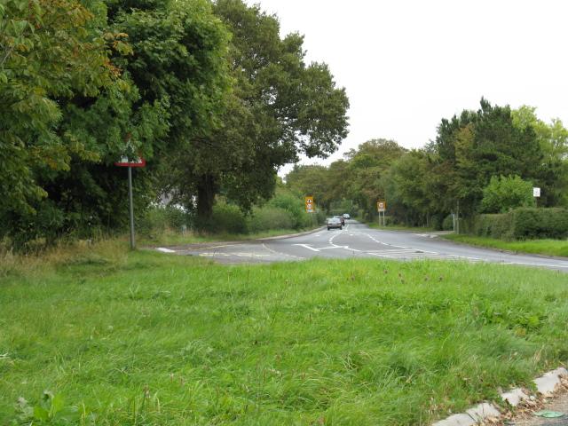 B5085, Looking East From Broadoak Lane