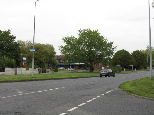 Knutsford - Mobberley Road At Manor Park North