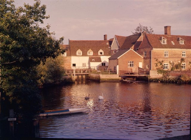 River Stour at Flatford Mill - 1962