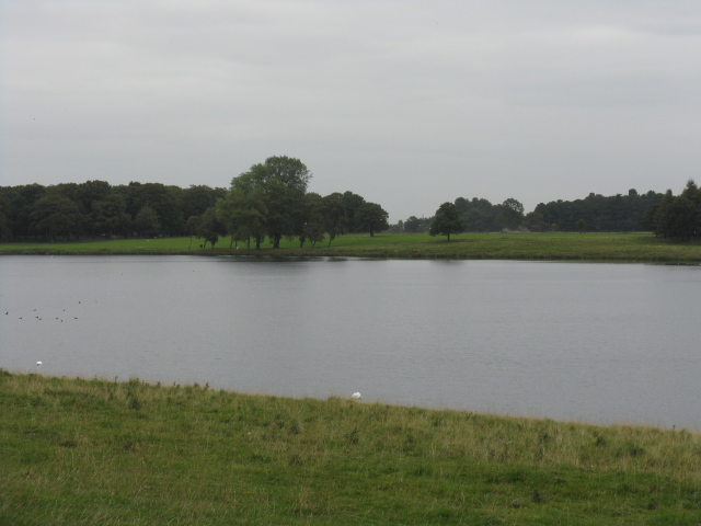 Tatton Mere On A Grey September Day