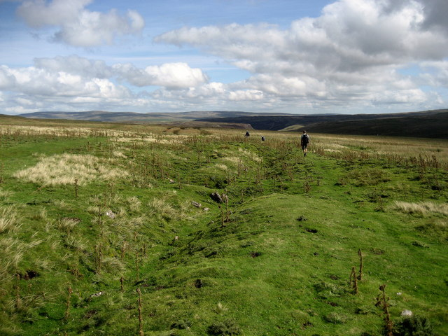 Pennine Way on Golden Mea