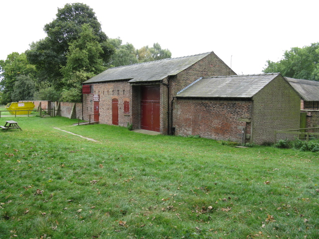 Tatton Old Hall Outbuildings