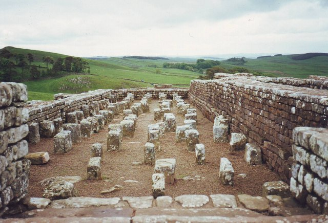 Bathhouse at Housesteads, Northumbria