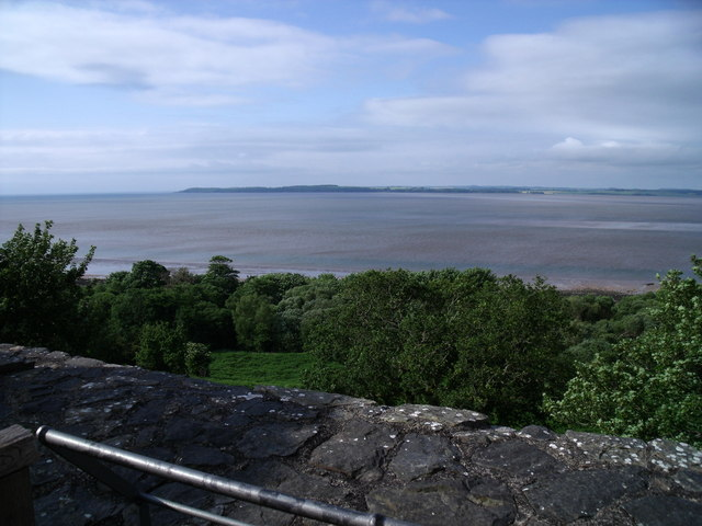 Wigtown Bay, seen from the top of Carsluith Castle