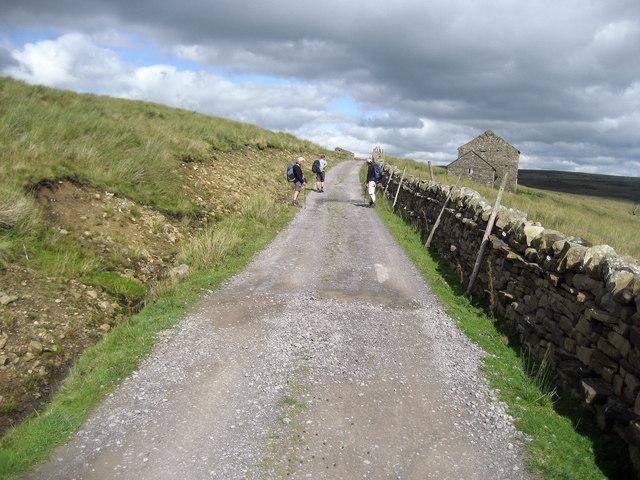 Access Lane from Birkdale Farm