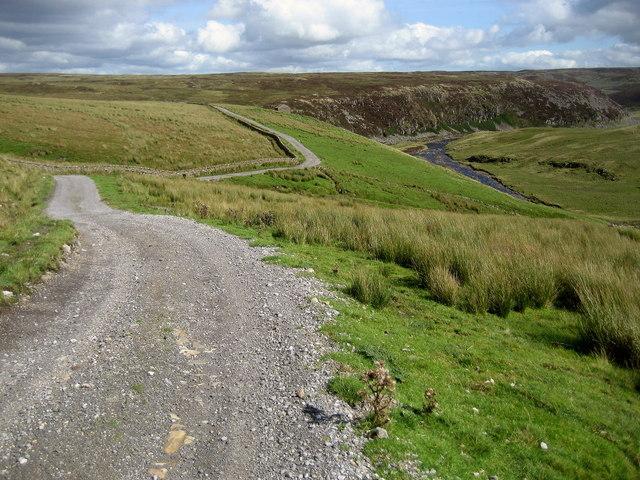 Pennine Way east of Birkdale