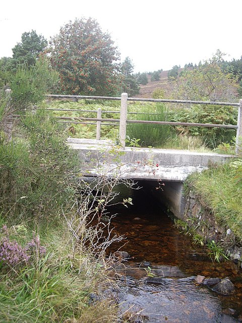 Road bridge over Burn of Bogturk