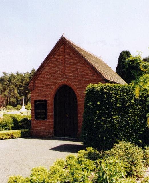Bordon Military Cemetery Chapel