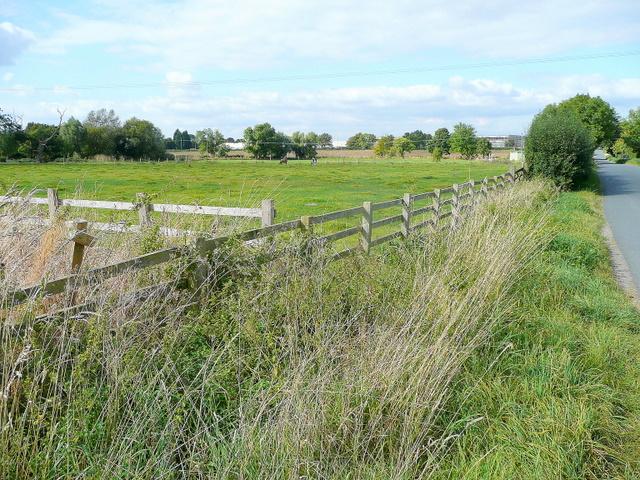 View north of Pamington Farm