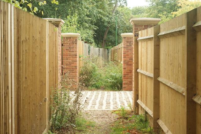 Footpath at West Clandon, Surrey