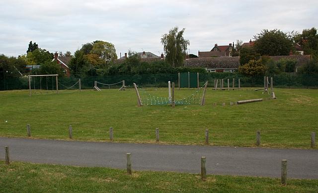 Assault course, Victoria Park, Malvern Link