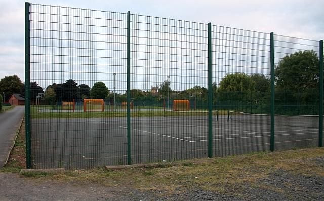 Tennis courts, Victoria Park, Malvern Link