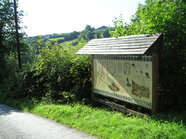 Cwmhiraeth notice board