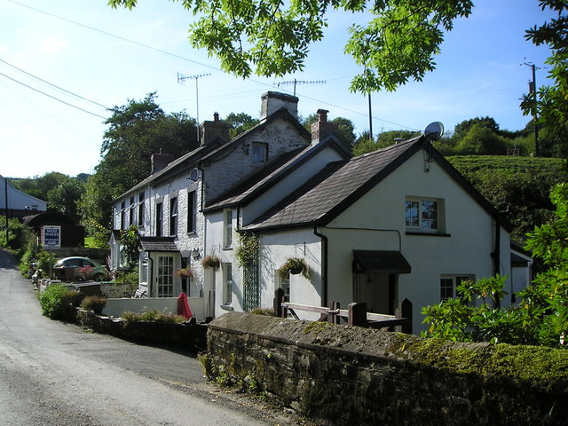 Cottages at Cwmhiraeth