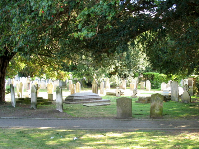 Sidmouth Parish Church Graveyard