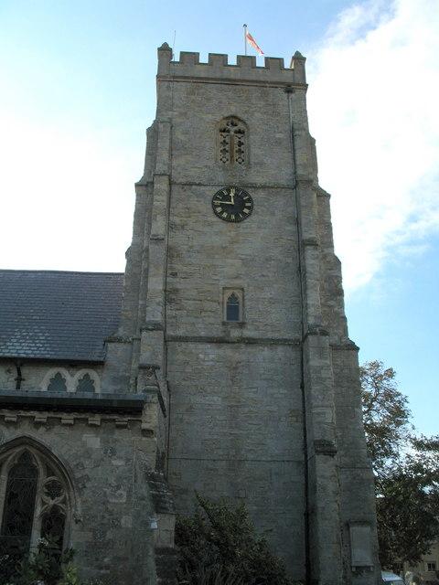 Sidmouth Parish Church Tower