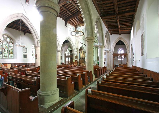 All Saints, Writtle, Essex - Interior