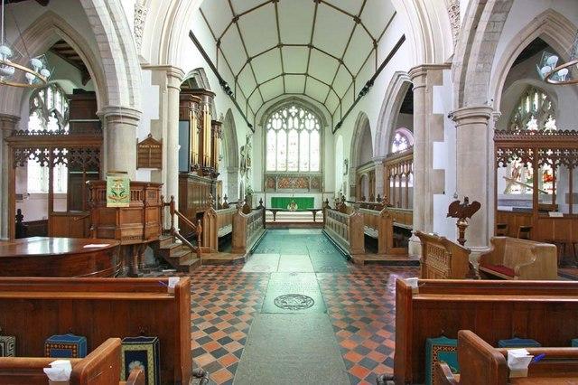 All Saints, Writtle, Essex - East end