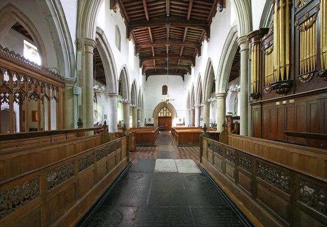 All Saints, Writtle, Essex - West end