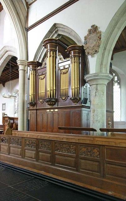 All Saints, Writtle, Essex - Organ