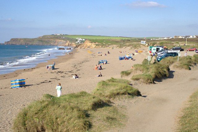 The Southern Beach on Widemouth Sand