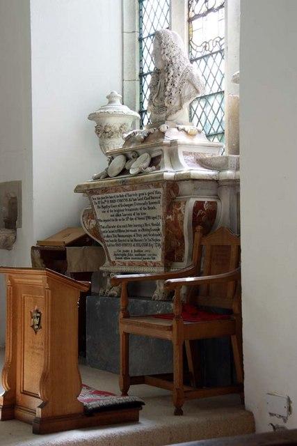 All Saints, Writtle, Essex - Monument