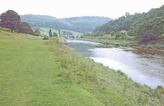 River Wye near Brockweir, 1981