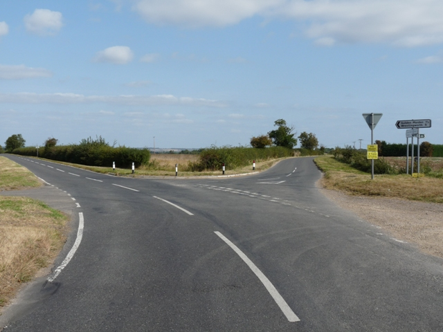 Ashwell Road fork