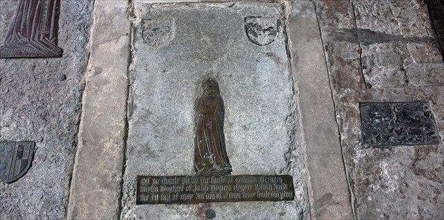 All Saints, Writtle, Essex - Brass