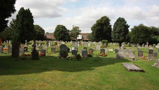 All Saints, Writtle, Essex - Churchyard
