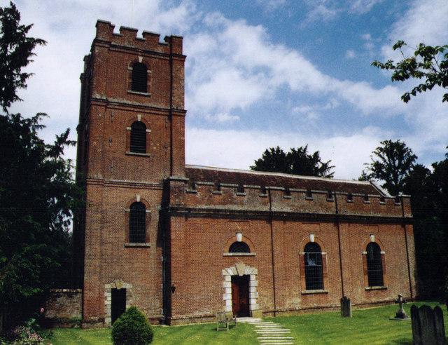St Mary, Avington