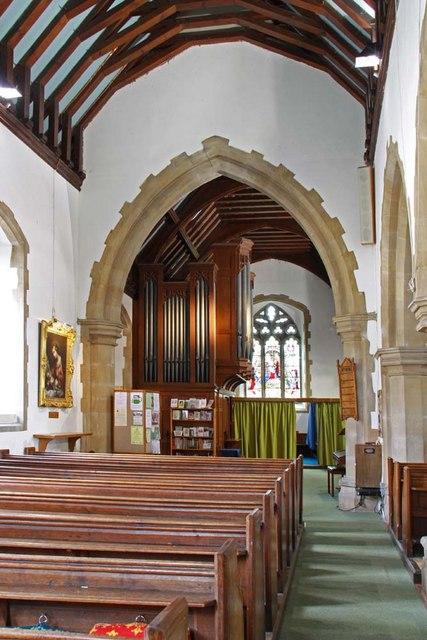 St Mary, Broomfield, Essex - North aisle
