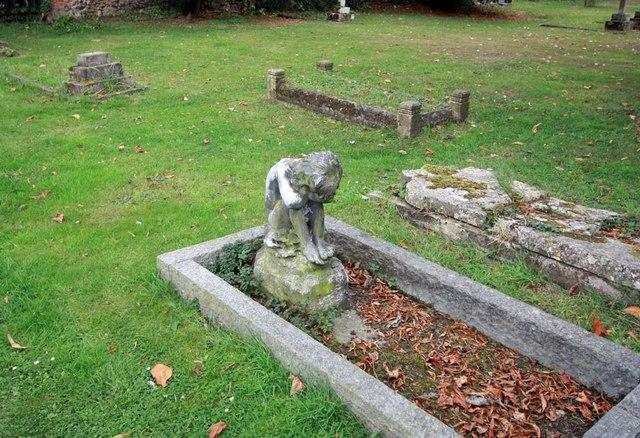 St Mary, Broomfield, Essex - Gravestone