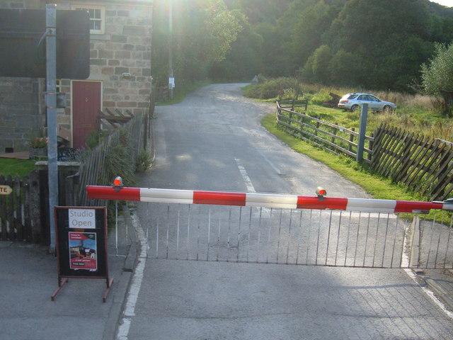 Level Crossing near Levisham Station