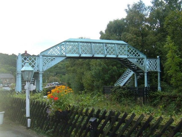 Footbridge, Grosmont Station