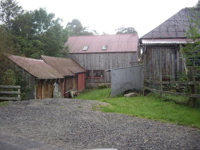 Finzean Turning Mill buildings