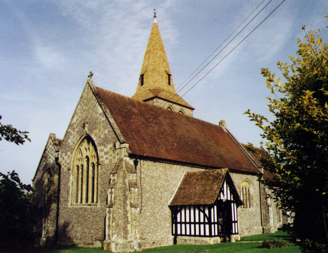 All Saints, East Stratton