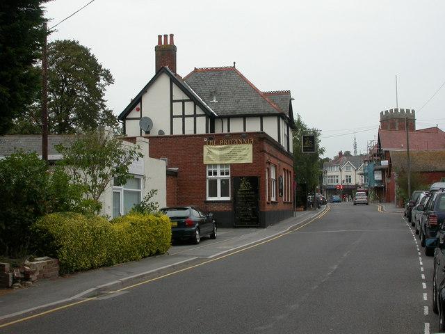 Parkstone, The Britannia