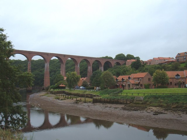 Viaduct over the River Esk