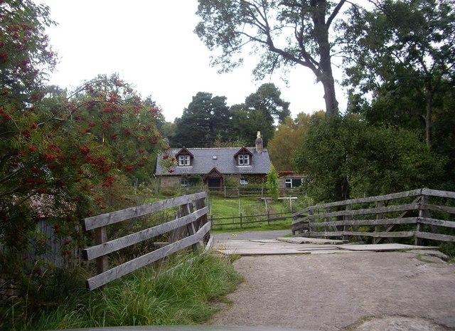 Finzean sawmill bridge