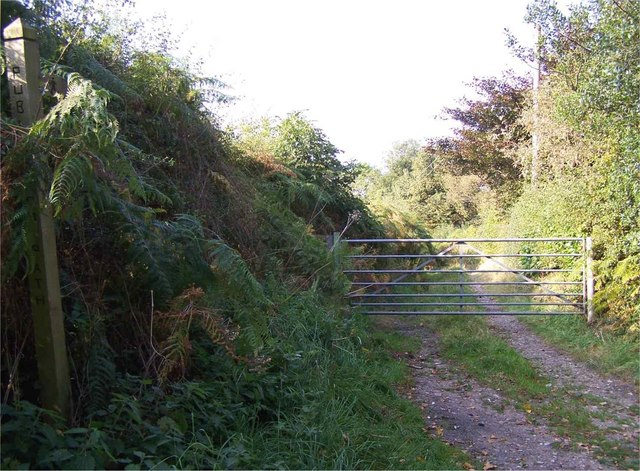 Footpath In Chesterfield