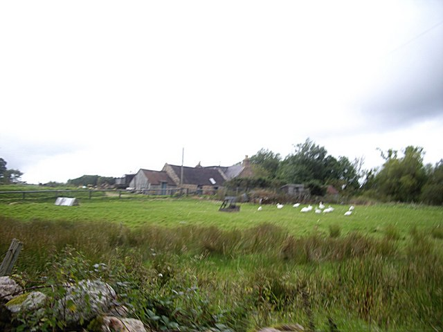 Farm buildings at Percie