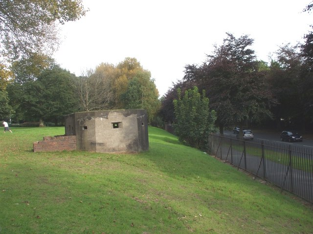 Pillbox guarding Springwood Ave, Liverpool