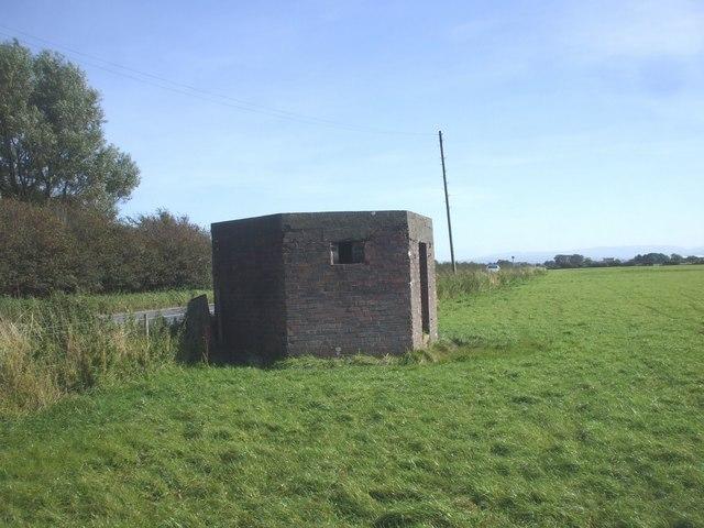 Pillbox guarding the B5302 at Silloth