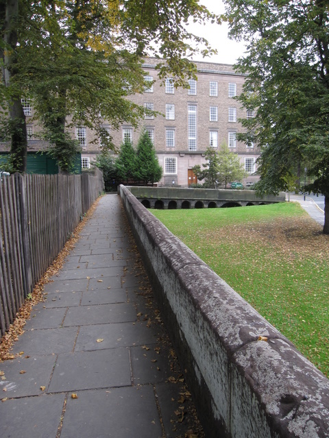 The city walls towards County Hall
