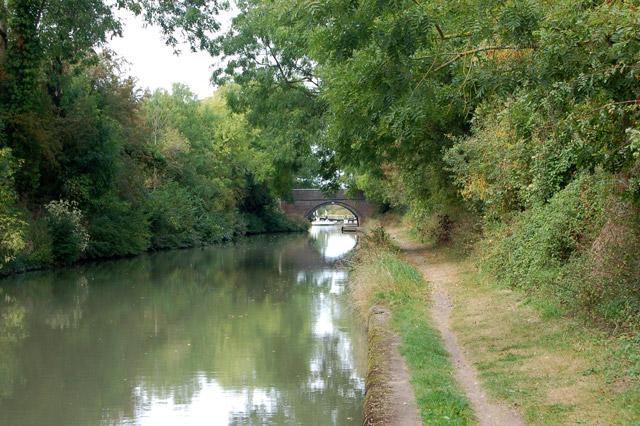Grand Union Canal near Bascote locks